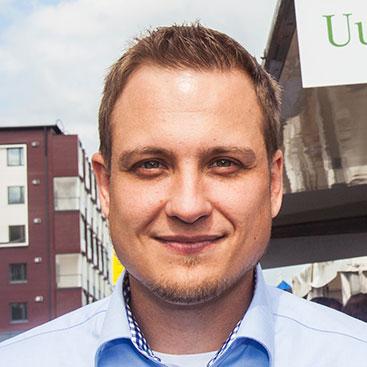 Myyntipäällikkö Sami Naskali Fortumista tietää, miten Fortum Fiksua kannattaa hyödyntää.